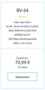 OVH Server pricing
