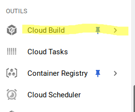 Google Cloud Build access
