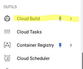Google Cloud Build access