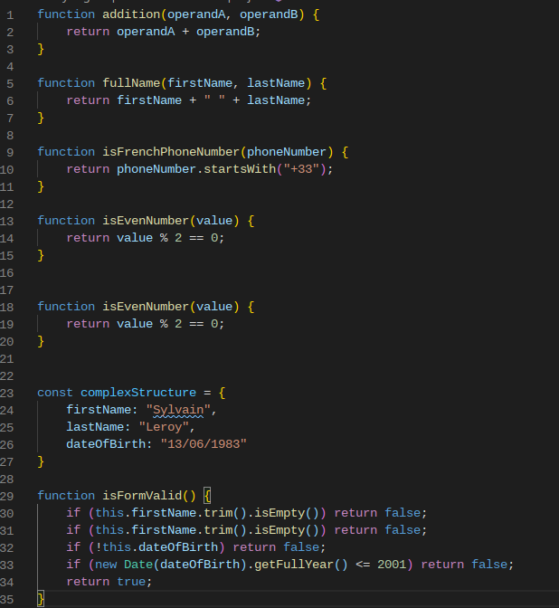 Code example to use with Ponicode