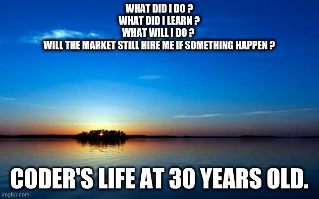 Coder's lifestyle