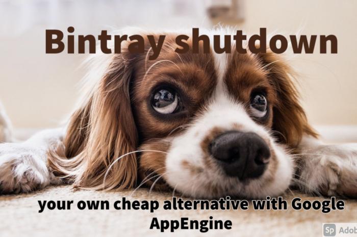 Bintray shutdown : your own cheap Maven repository with Google App Engine.